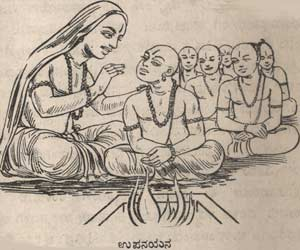 Upanayana of Shri Sripadaraja
